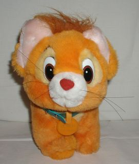 Vintage 10 Disney Plush Oliver Company Kitty Cat Stuffed Animal 1988