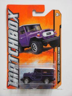 Matchbox 2012 MBX Old Town Toyota Land Cruiser FJ40 Purple