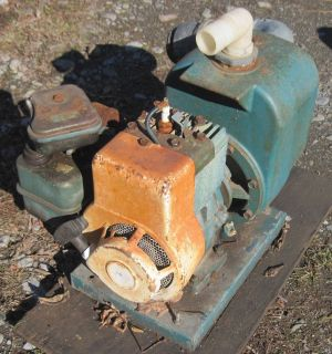Marlow Water Pump 3 HP Briggs Stratton Engine