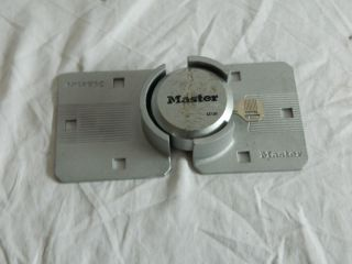 Master Ock Magnum Security Lock and Guarded Hasp G24