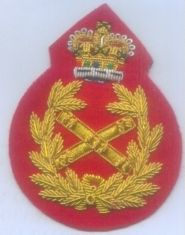 British Army BEF Field Marshal Rank Badge Crown Queen