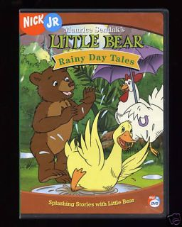 Maurice Sendak Little Bear Nick Jr DVD Rainy Day Tales