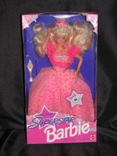 Mattel Barbie Doll 1993 Superstar Barbie 10592  Special Edition