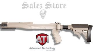 ATI Ruger 10 22 Six Position Collapsible Side Folding Stock Desert Tan