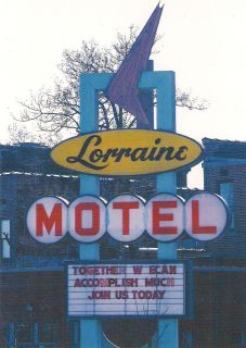 Lorraine Motel where Martin Luther King Jr was tragically murdered