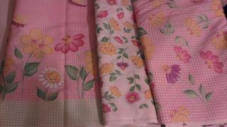 Daisy Kingdom Donna Dewberry Flower Party Border Fabric Set