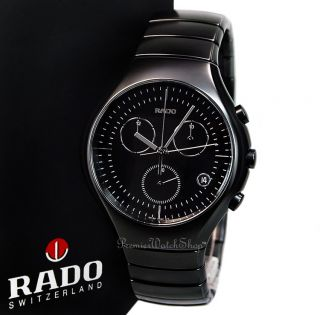 Chronograph R27815152 Matte Black Ceramic Mens Chrono Watch