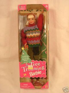 New Mattel Barbie Doll Tree Trimming Barbie 22967