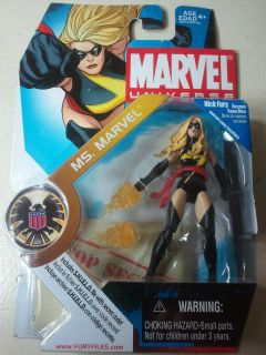 Marvel Universe MS Marvel Black Outfit 3 3 4 Variant Action Figure 22