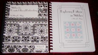 bks by MARY D. SHIPP EXPLORING PATTERN IN STITCHES, COUNTED THREAD