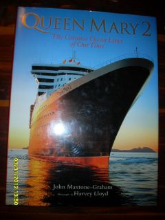 QUEEN MARY 2 GREATEST OCEAN LINER MAXTON GRAHAM HUGE TITANIC