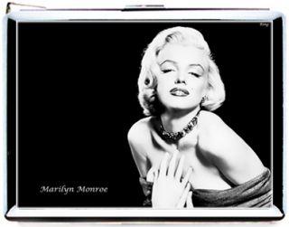 C075 Marilyn monroe sexy star pop arts retro vintage CIGARETTE CASE