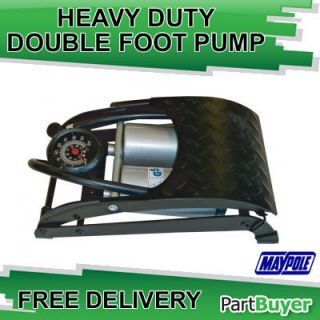 Heavy Duty Air Inflator Cylinder Pump Car Bike Maypole MP791