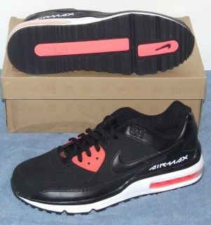 Mens Nike Air Max Wright Black Black Solar Red White Size 10 5