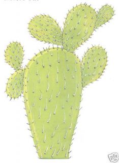 Desert Cactus Large Wall Sticker Home Decor Wall Decal