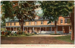 Tappan NY German Masonic Home Postcard Rockland County