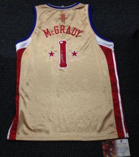 Tracy McGrady Signed Autograph Houston Rockets All Star Jersey 1 GAI