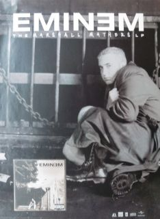 Eminem Marshall Mathers U s Promo Poster Rap Hip Hop Rock Music