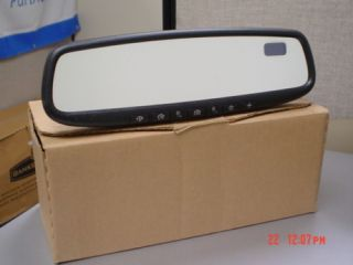 07 11 Mazda CX7 CX9 Auto Dim Rear Mirror Comp Homelink