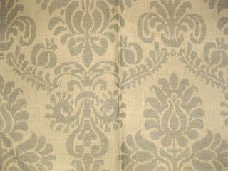 Hodsoll McKenzie Linen Damask Zimmer Rohde Collectible Designer Fabric