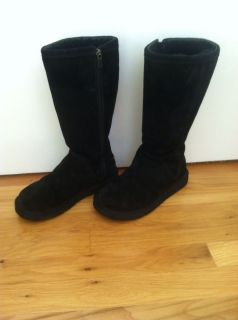UGG Australia Black Kenly Tall Boots USA 6