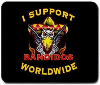 Bandidos MC Mousepad Mouse Pad Mats New