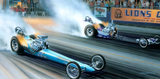 "vs MONGOOSE Chapter 1"" Don Prudhomme Tom McEwen Top Fuel Lions 64 65"