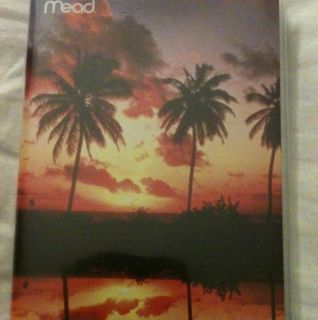Mead Pocket Diary Planner Daily Sunset 2 Years Back to School