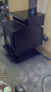 Large New Englander Catalytic Wood Burning Stove