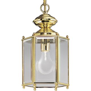 Progress Lighting P5834 10 Polished Brass Guard Lantern Outdoor Light