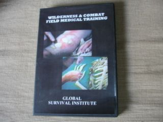 23 Wilderness / Mountain Emergency Combat Medical Training Course DVD