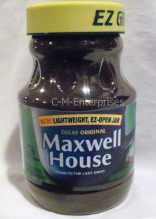 Maxwell House Instant Coffee Decaffeinated 8 Oz