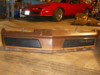 Pontiac Firebird Formula GTA Trans Am Mecham Crossfire FRONT BUMPER GM