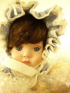 Kay McKee Porcelain Doll Robin The Hamilton Collection
