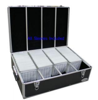 Aluminum Hard Case for Media Storage Holder w Hanger Sleeves