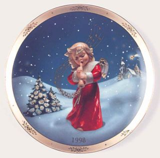 Goebel Annual Christmas Plate Silent Night 1998 2003684