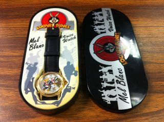 Daffy Duck and Bugs Bunny Mel Blanc Voice Watch 1998 Armitron