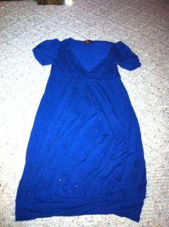 Forever 21 Navy Juniors Size Small Dress Shirt