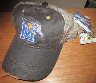 New Memphis Tigers Realtree AP Camo Hunting Hat Cap Q3 College Josh