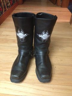 Mens Harley Davidson Riding Boots