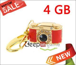 New 4GB USB Flash Memory Stick Drive Pen Crystal Camera