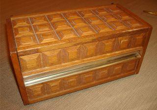 WESTERN ELECTRIC Stowaway Design Mediterranean Wood Box Phone   WORKS