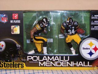 McFarlane NFL Steelers 2 Pack Troy Polamalu Rashard Mendenhall