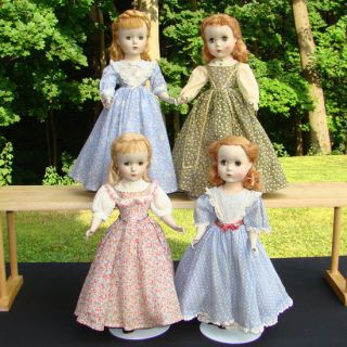 Alexander Little Women Doll Set Jo Beth Amy Meg 14 Inch HP C1950