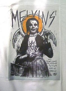 Melvins T Shirt Punk Rock Pavement Fugazi