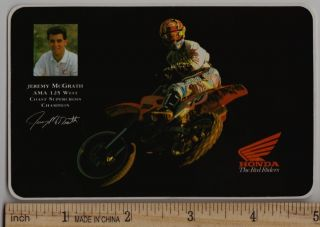 1993 JEREMY McGRATH HONDA CR125R CR250R Sticker Decal Motocross