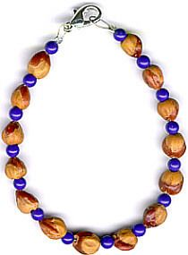 Mens Womens Ghost Bead Cedar Bead Bracelet 56 Native American Jewelry