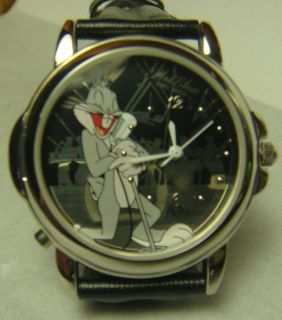 Warner Brothers Looney Tunes Mel Blanc Bugs Bunny Voice Wrist Watch