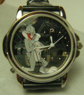 Warner Brothers Looney Tunes Mel Blanc Bugs Bunny Voice Wrist Watch