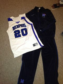 Memphis Tigers Nike Elite Black Velour Warm UPS
